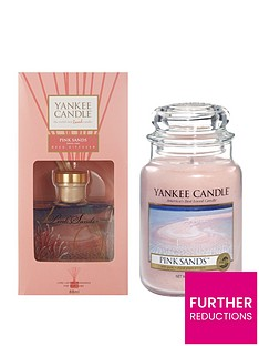 yankee-candle-pink-sands-large-jar-candle-and-reed-diffuser-set