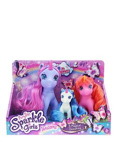 sparkle-girlz-unicorns-family-set-of-3