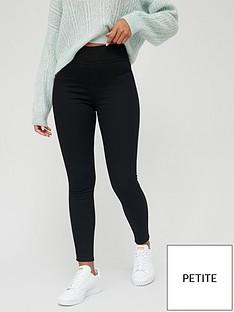 v-by-very-valuenbspshort-high-waist-jeggings-black