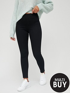 v-by-very-valuenbspshort-high-waist-jeggings-black