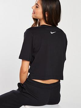 nbsp  Crop Sportswear Tee Nike Black Swoosh Visit New Online bDBueJE