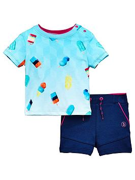 baker-by-ted-baker-baby-boys-ice-lolly-t-shirtnbspand-short-set-navy