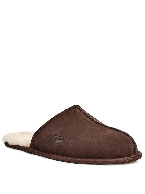 ugg-scuff-suede-slippers-espresso