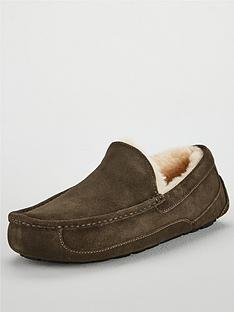 ugg-ascot-suede-slippers-charcoal
