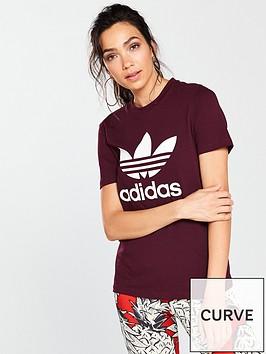 adidas-originals-trefoil-tee-maroon