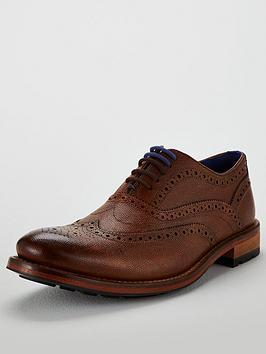 0cb631da301a0f Ted Baker Guri 9 Leather Brogue