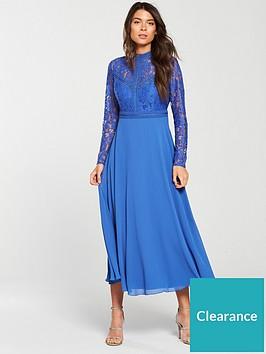 little-mistress-long-sleeve-lace-top-midi-dress-azure-blue