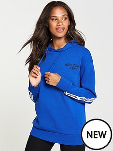 v-by-very-new-york-slogan-hoodienbsp--electric-blue