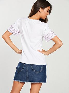 by nbsp White Edging Ruffle Very shirt Lilac  V T Cheapest Price Online o2mPgm44