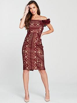 Cheap Usa Stockist Discount For Cheap COAST Merlot Dress Red  Lace Shift Discounts Sale Online Outlet Clearance Store YNgKi