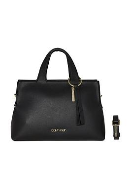 calvin-klein-neat-black-large-tote-bag