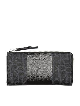 calvin-klein-mono-block-ziparound-purse