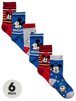 mickey-mouse-6-pk-boys-socks