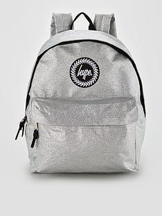 hype-silver-glitter-backpack