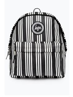 hype-vinyl-stripe-backpack