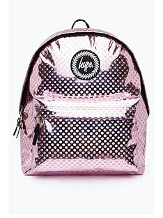 hype-metallic-polka-backpack