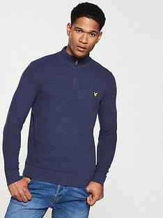 lyle-scott-moss-stitch-14-zip-jumper