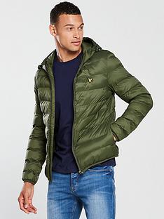 lyle-scott-lightweight-paddednbspjacket-woodland-green