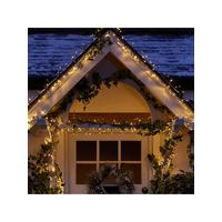 720 multi function warm white indooroutdoor christmas cluster lights with timer littlewoodsirelandie