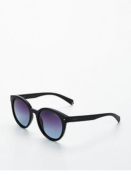 polaroid-round-sunglasses-black