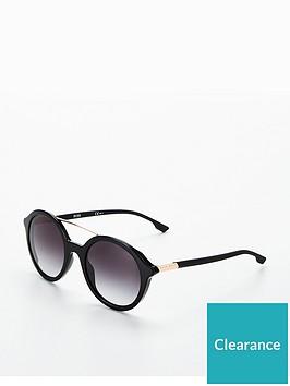 boss-round-brow-bar-sunglasses-black
