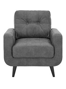 skandi-faux-leather-armchair