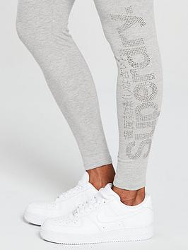 Buy Cheap Fake Latest Collections Sale Online Stone Logo Legging Superdry Rhine Cheap Sale Online Buy Newest Free Shipping Pictures g8OUE
