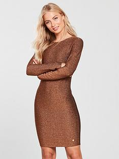 superdry-mia-shimmer-dress-copper