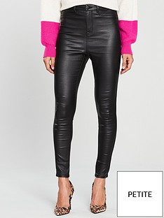 v-by-very-short-addison-coated-super-high-waisted-super-skinny-jean-black-coated
