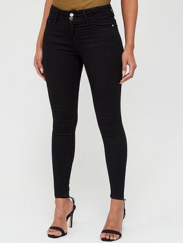 v-by-very-double-button-skinny-jean-black