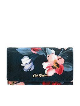 cath-kidston-medium-foldover-wallet-navynbsp