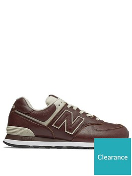 info for 03a05 3be2a New Balance 574 Leather