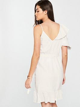 Island Detail River White Frill Dress Cheapest For Sale Footlocker Pictures For Sale Sale For Cheap Cheap Sale Get Authentic Shop For 2HoAdXPg