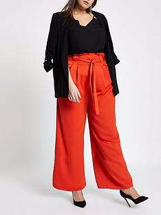 ri-plus-wide-leg-trousers-red