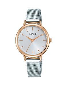lorus-white-and-rose-gold-dial-stainless-steel-mesh-strap-ladies-watch