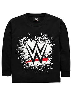 wwe-printed-long-sleeve-t-shirt