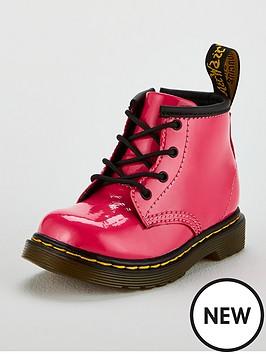 dr-martens-girls-infant-1460-patent-boot-hot-pink