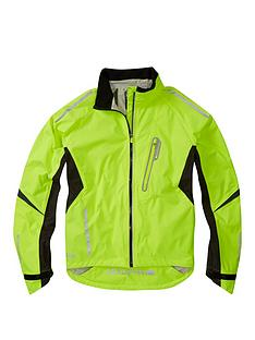 MADISON Stellar Men s Waterproof Cycle Jacket - Hi-Viz Yellow 27dec08c6