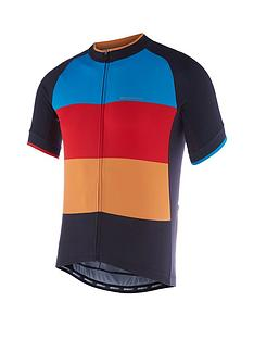 madison-peloton-mens-short-sleeve-cycle-jersey-black-colour-blocks