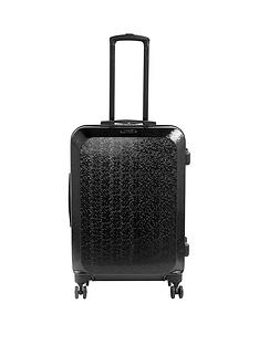 constellation-mosaic-large-4-wheel-suitcase-black