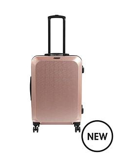 constellation-mosaic-cabin-4-wheel-suitcase-rose-gold