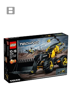 lego-technic-42081nbspvolvo-concept-wheel-loader-zeuxnbspvehicle