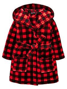 mini-v-by-very-checked-fleece-robe