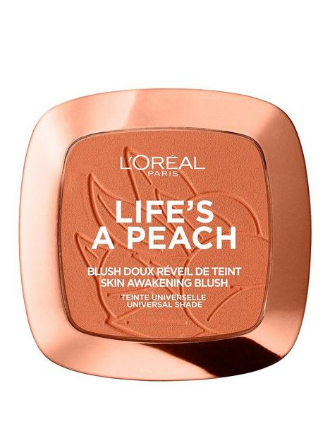 loreal-paris-lifes-a-peach-blush-powder