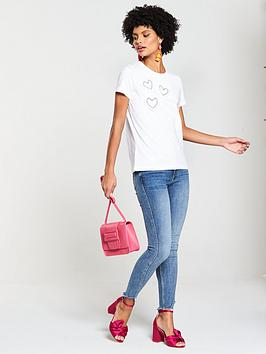 Very Tshirt Placement V Heart by Pearl Buy Cheap Genuine Cheap Real Eastbay Sale Real icRlVuLz