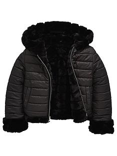v-by-very-girls-reversible-padded-faux-fur-jacket-black
