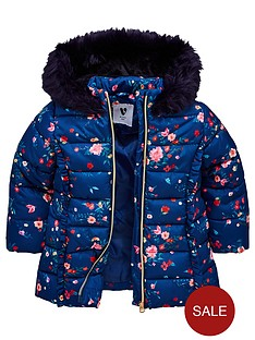 mini-v-by-very-girls-floral-padded-jacket-navy