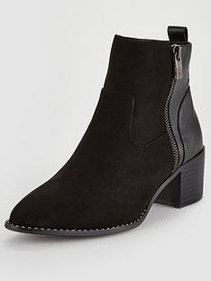 head-over-heels-patricia-block-heel-ankle-boot-black