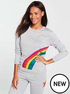 v-by-very-rainbow-pyjama-jumper-grey