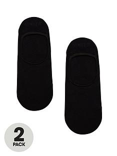 boss-bodywear-2-pack-shoe-liner-socks-black